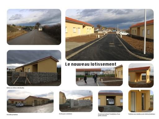 53-TER Habitat adapté pour des familles du voyage de la Loire (Photos-roman)